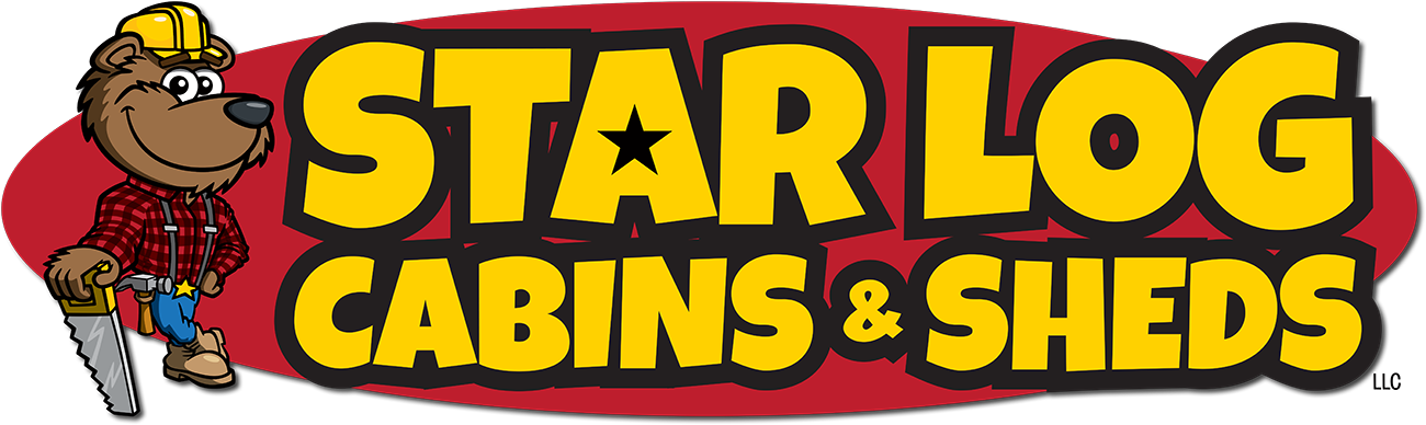 Logo of Star Log Cabins Wisconsin