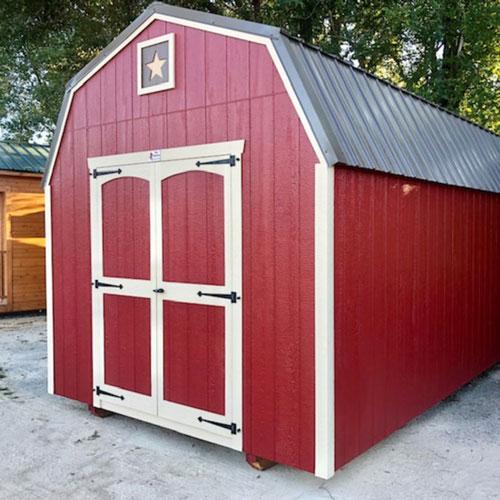 High-Side Barn Sheds