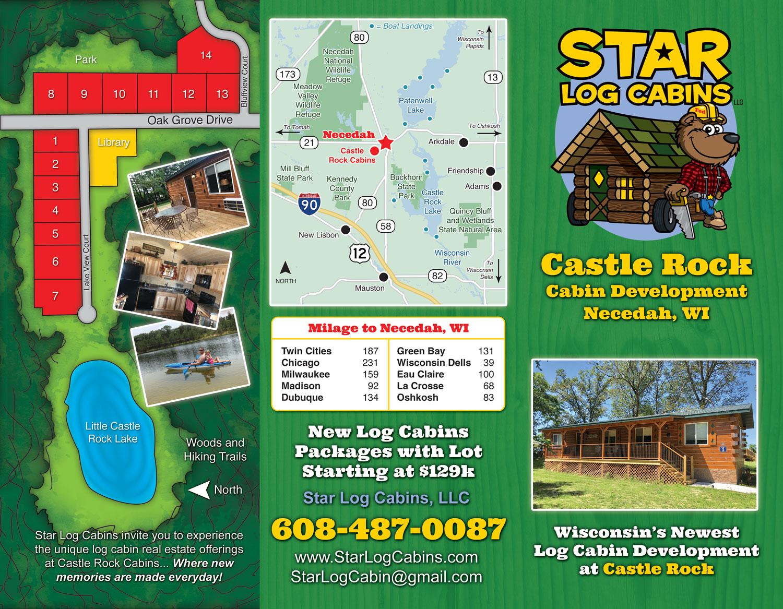 Star Log Cabins - Outside (Brochure)